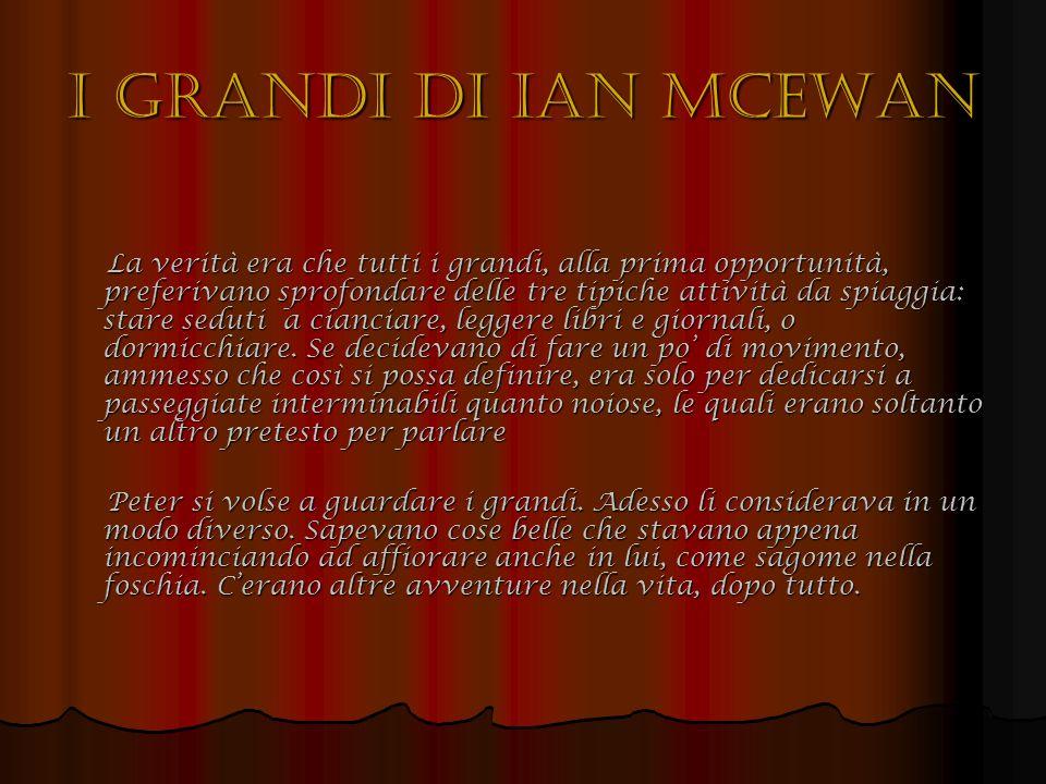 I grandi di Ian McEwan