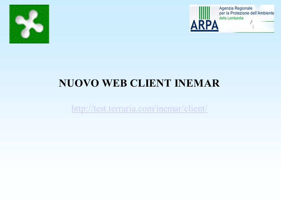 NUOVO WEB CLIENT INEMAR