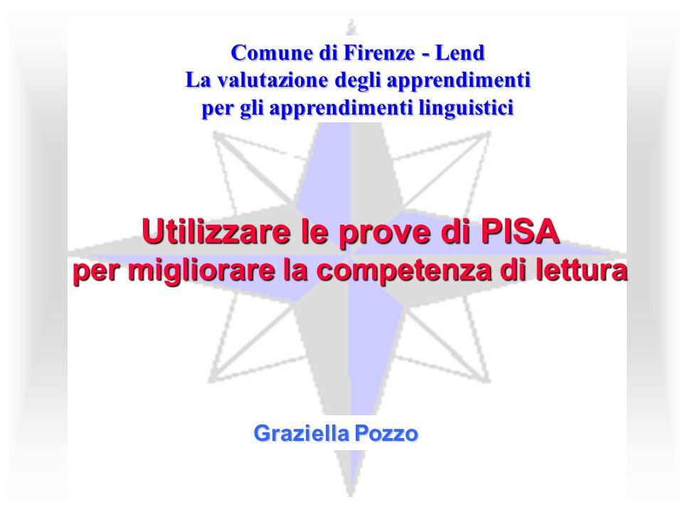 Utilizzare le prove di PISA per migliorare la competenza di lettura