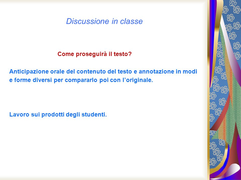 Discussione in classe