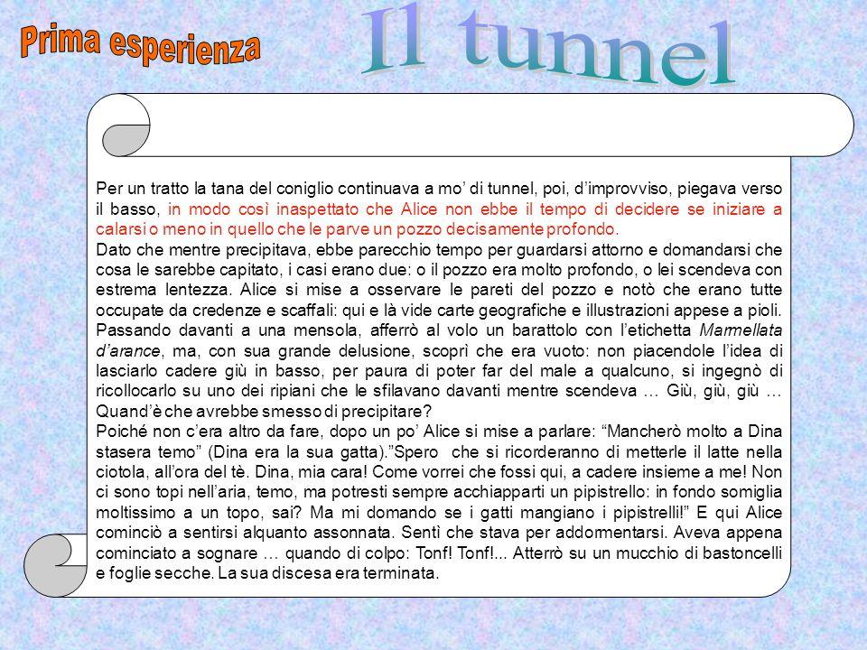 Prima esperienza Il tunnel