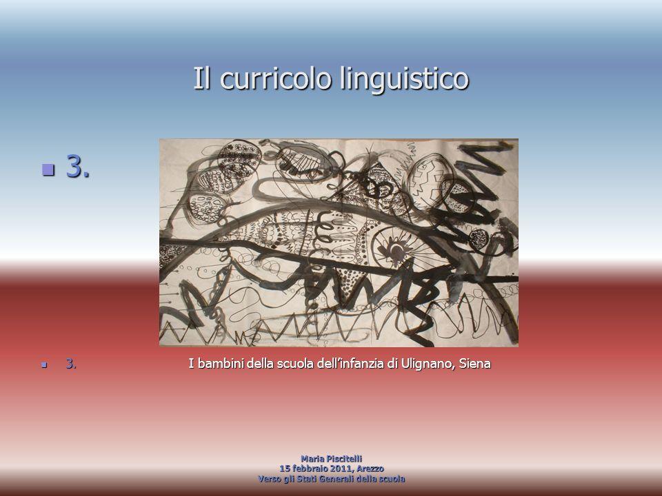 Il curricolo linguistico
