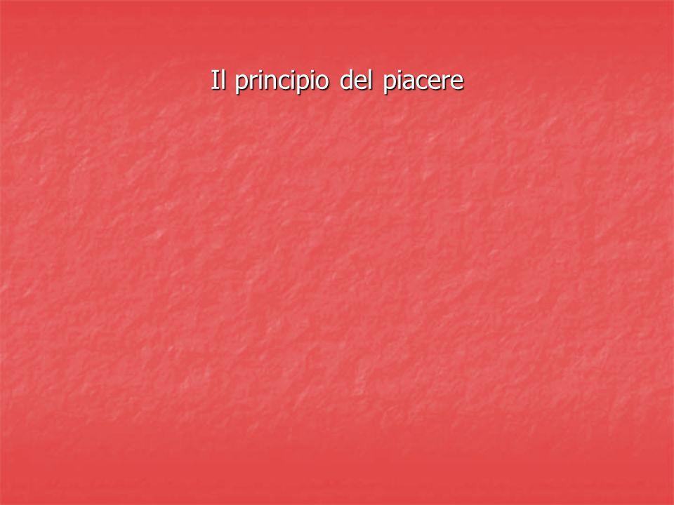 Il principio del piacere