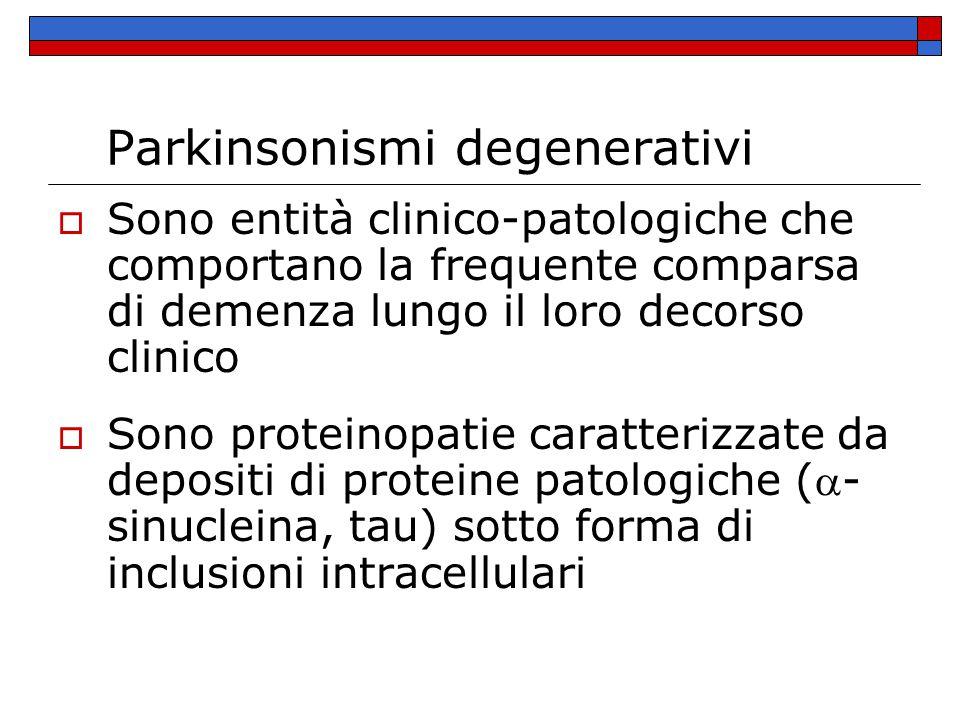 Parkinsonismi degenerativi