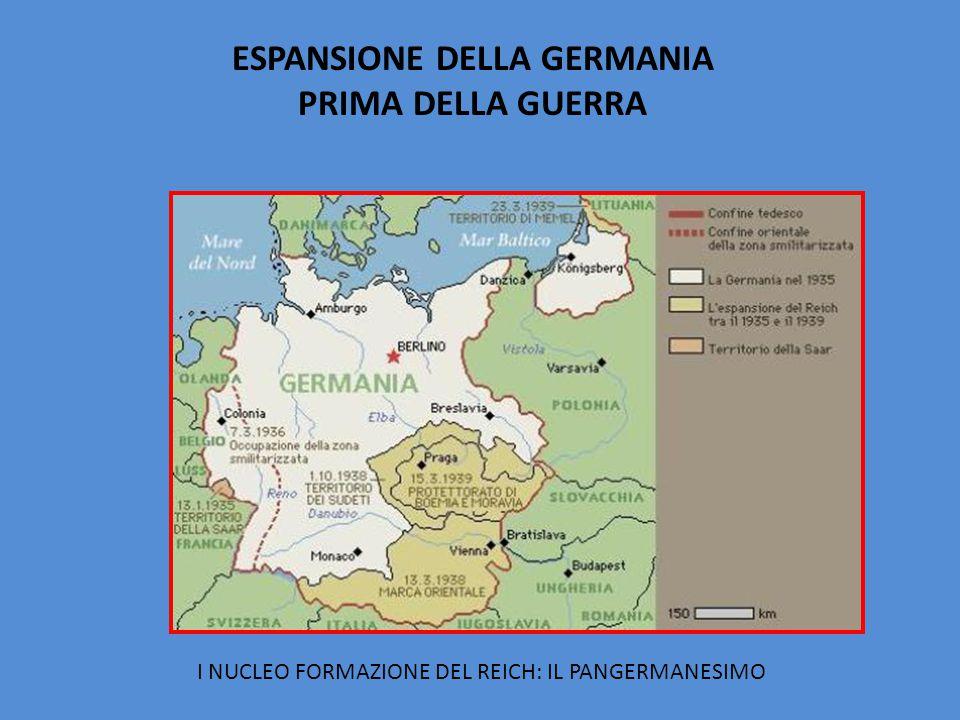 ESPANSIONE DELLA GERMANIA
