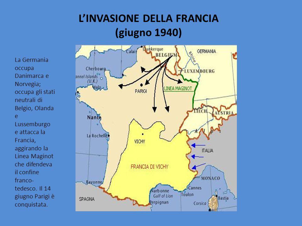 L'INVASIONE DELLA FRANCIA