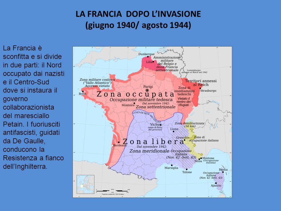 LA FRANCIA DOPO L'INVASIONE