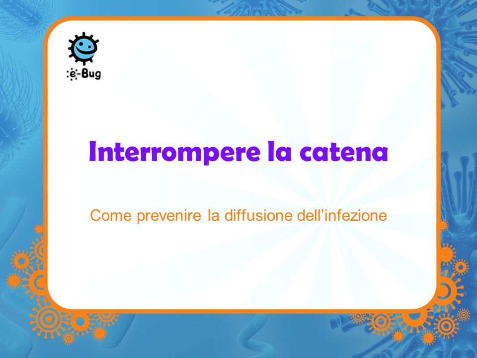 Interrompere la catena