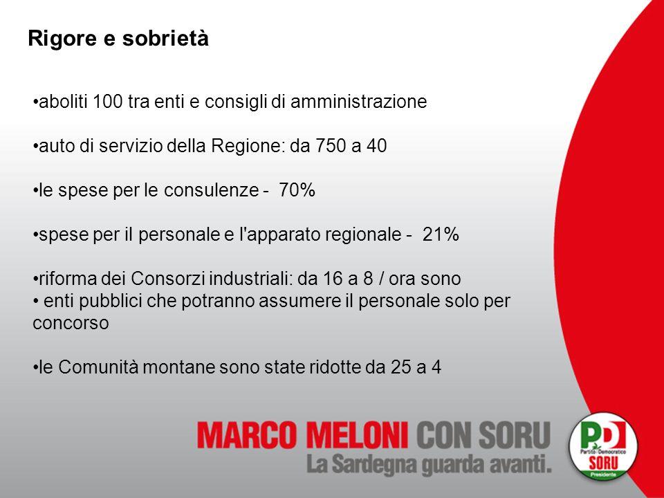 Rigore e sobrietà aboliti 100 tra enti e consigli di amministrazione