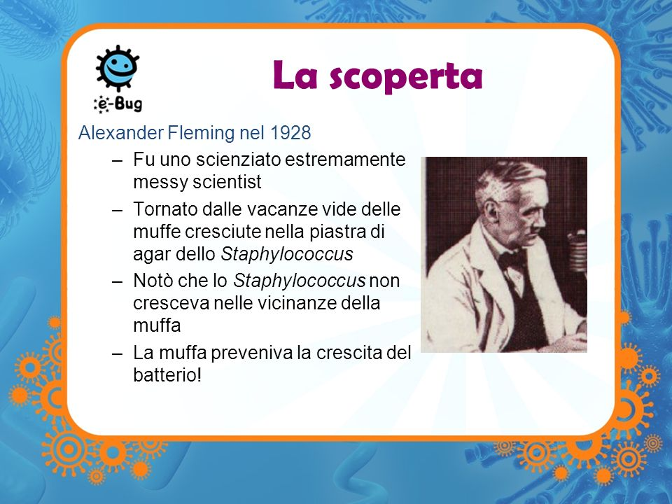 La scoperta Alexander Fleming nel 1928