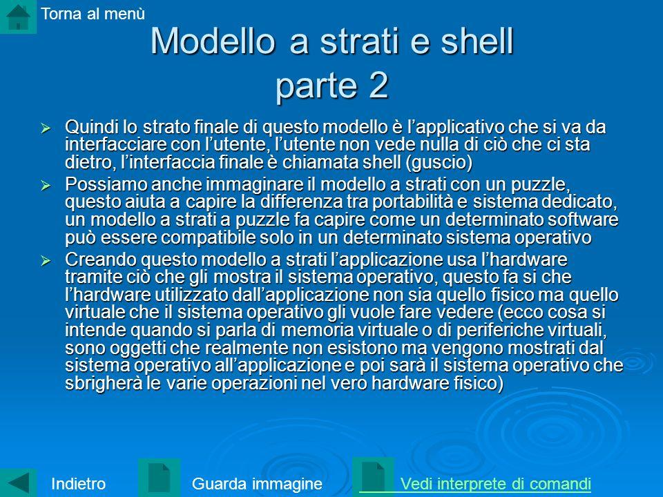 Modello a strati e shell parte 2