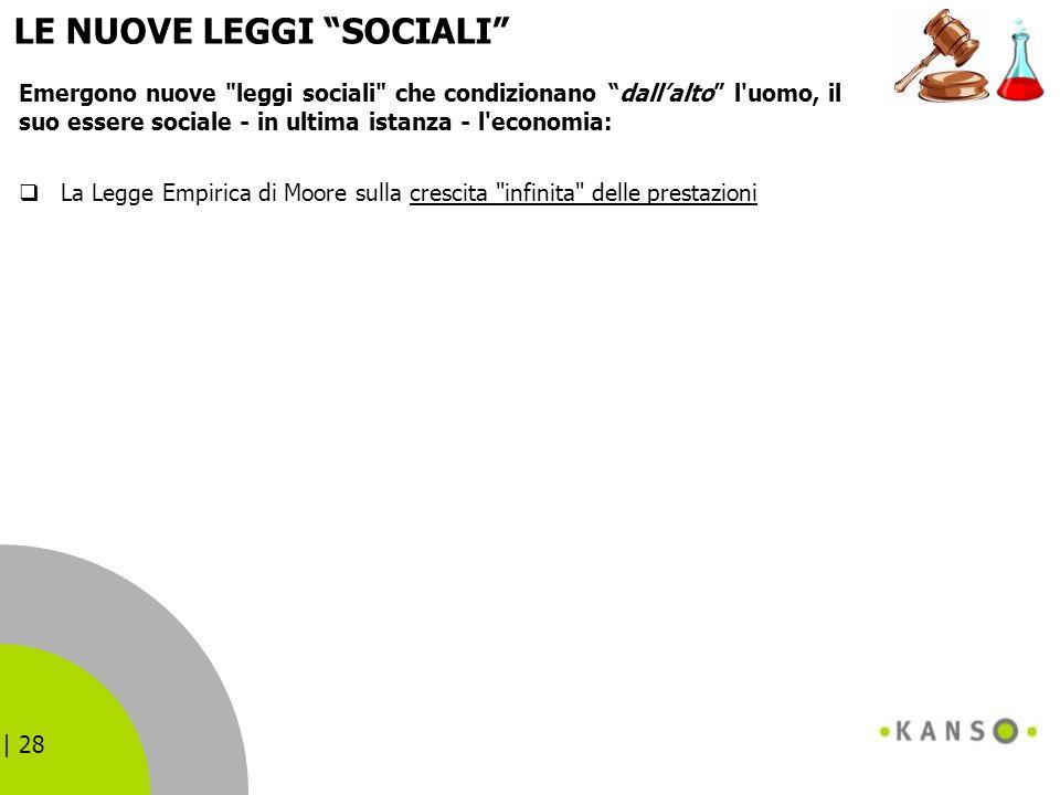 LE NUOVE LEGGI SOCIALI