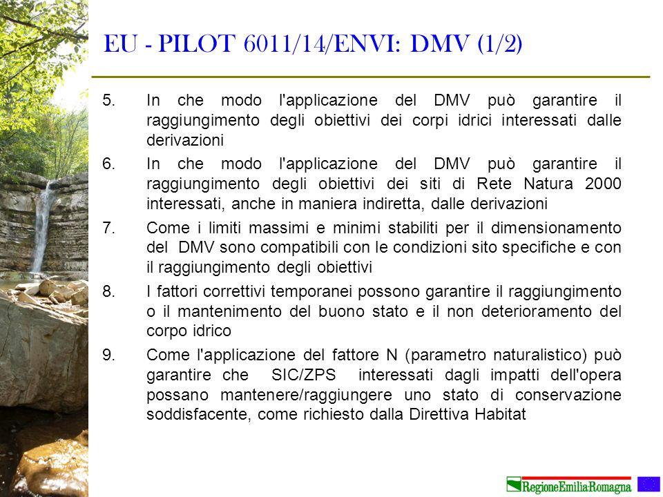 EU - PILOT 6011/14/ENVI: DMV (1/2)