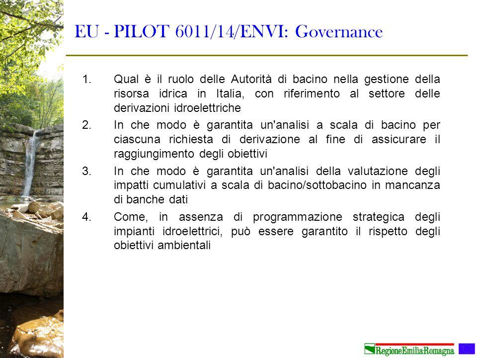 EU - PILOT 6011/14/ENVI: Governance