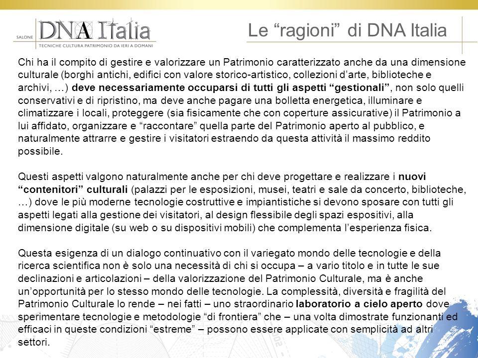 Le ragioni di DNA Italia