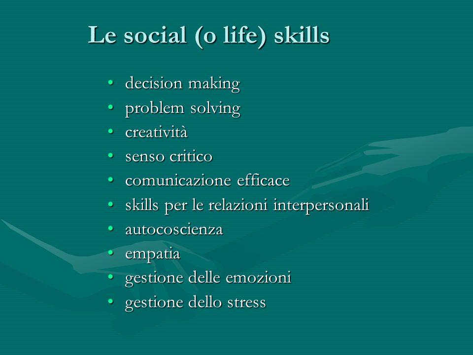 Le social (o life) skills