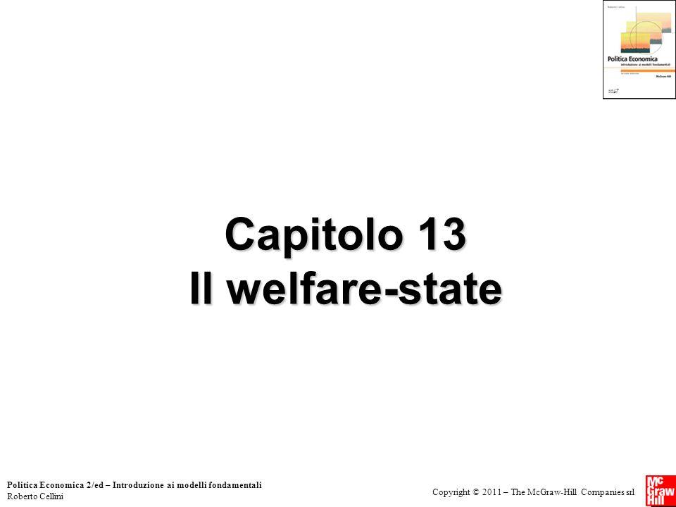 Capitolo 13 Il welfare-state