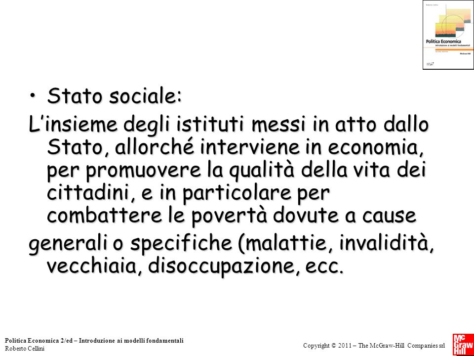Stato sociale: