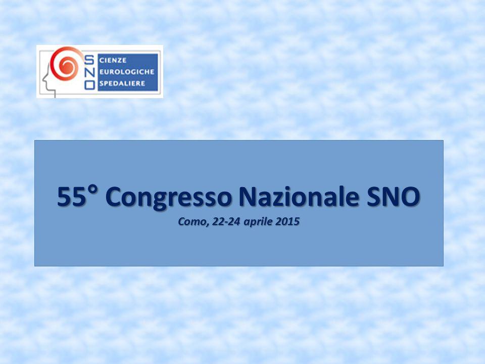 55° Congresso Nazionale SNO