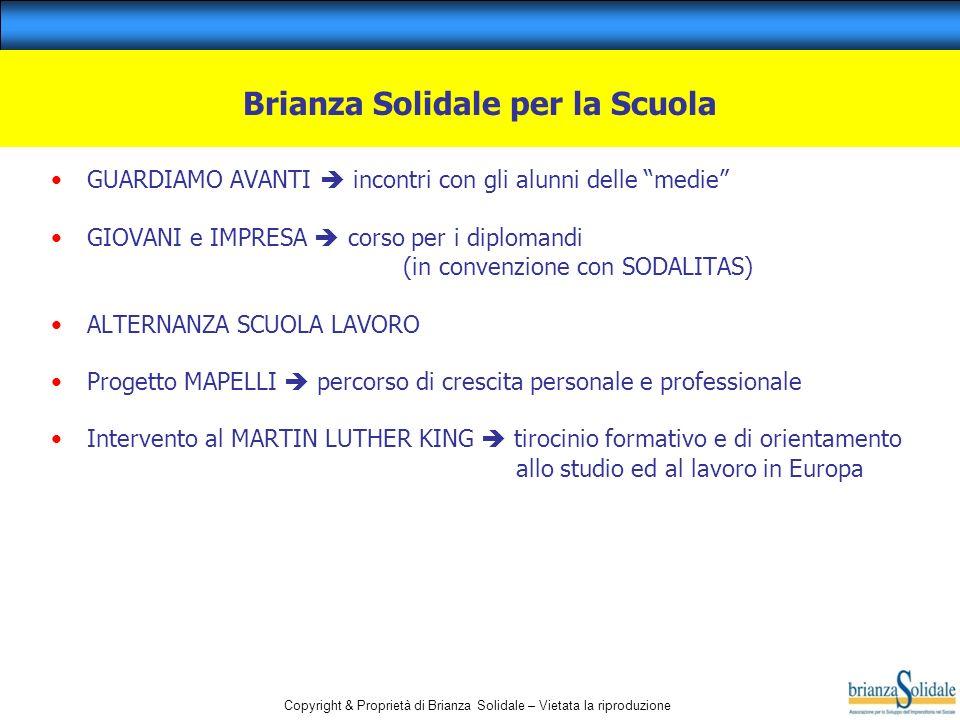 Brianza Solidale per la Scuola