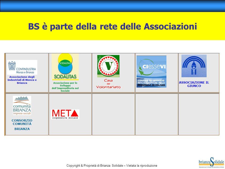 BS è parte della rete delle Associazioni