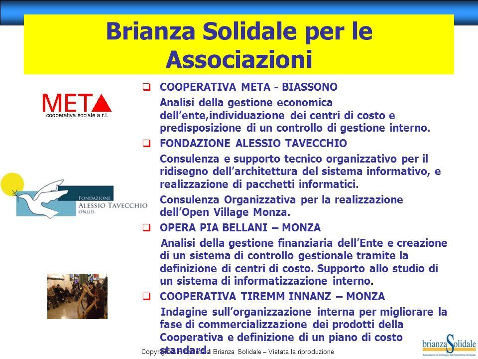 Brianza Solidale per le Associazioni