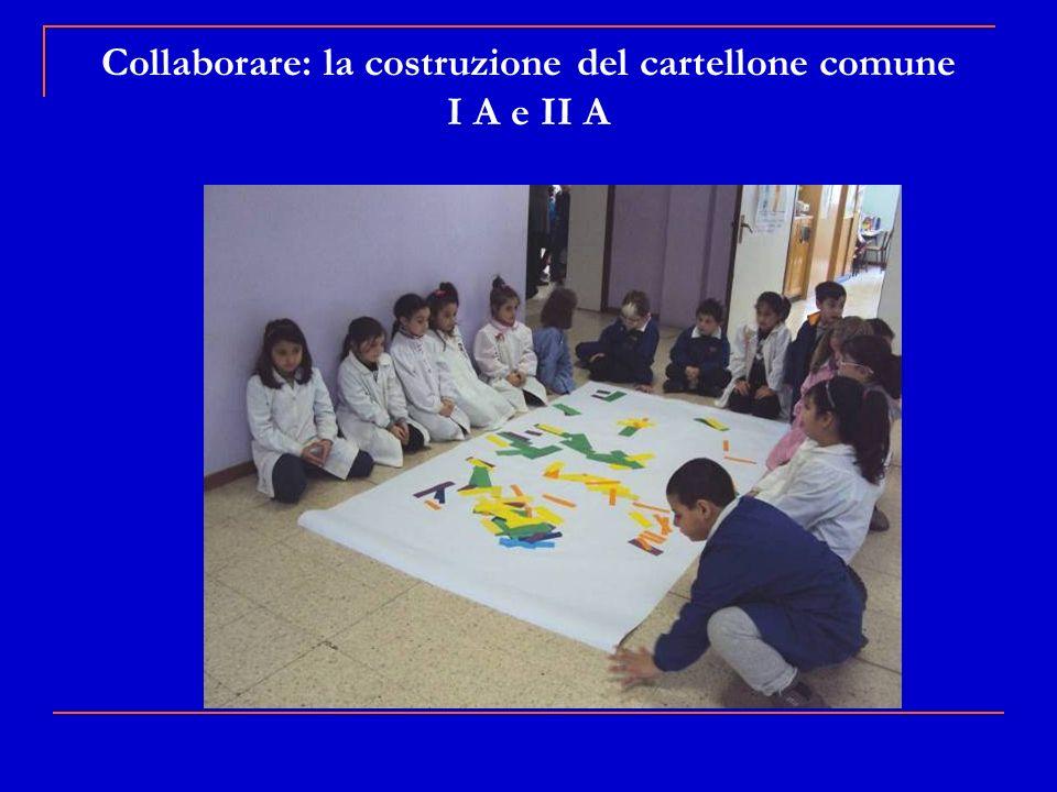 Collaborare: la costruzione del cartellone comune I A e II A