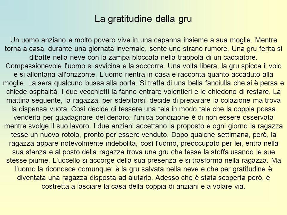 La gratitudine della gru