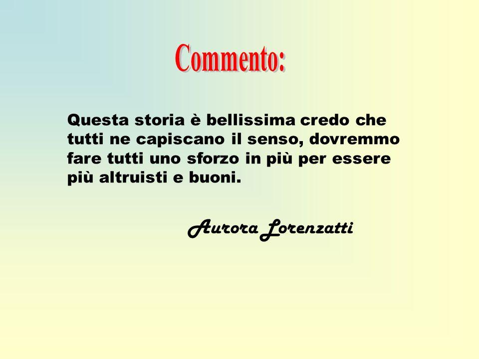 Commento: Aurora Lorenzatti
