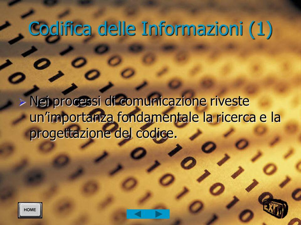 Codifica delle Informazioni (1)