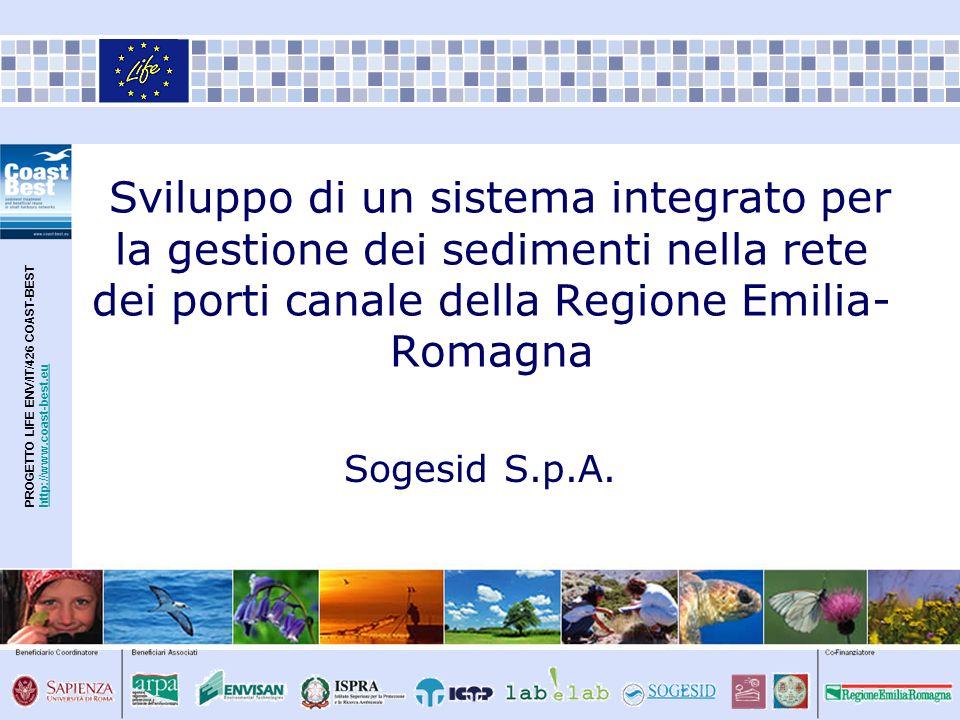 Sviluppo di un sistema integrato per la gestione dei sedimenti nella rete dei porti canale della Regione Emilia-Romagna