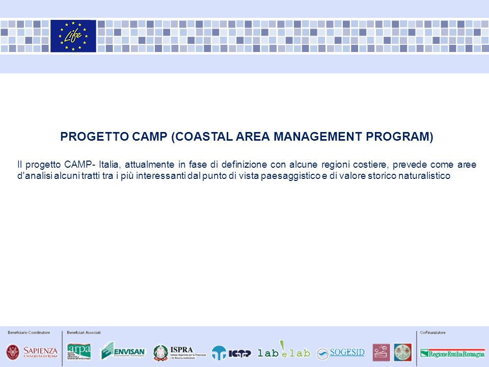progetto CAMP (Coastal Area Management Program)