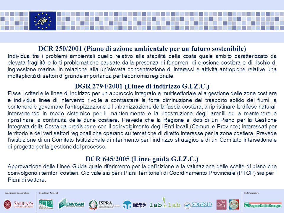 DCR 250/2001 (Piano di azione ambientale per un futuro sostenibile)