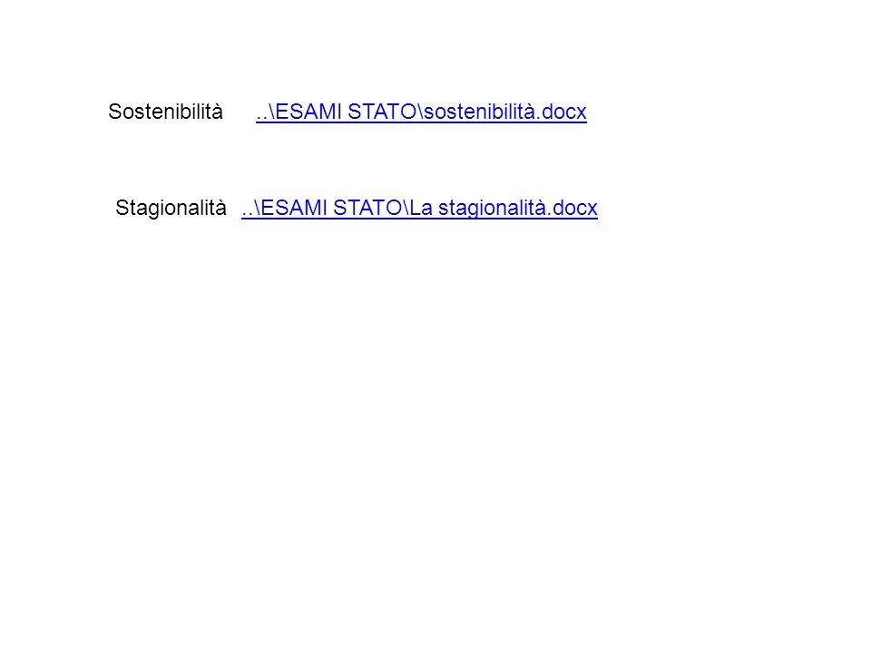 Sostenibilità ..\ESAMI STATO\sostenibilità.docx