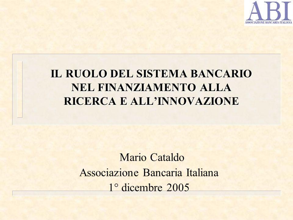 Mario Cataldo Associazione Bancaria Italiana 1° dicembre 2005