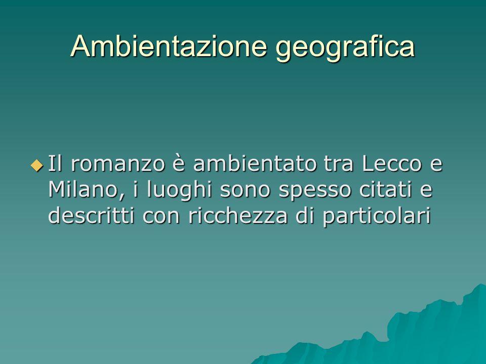 Ambientazione geografica
