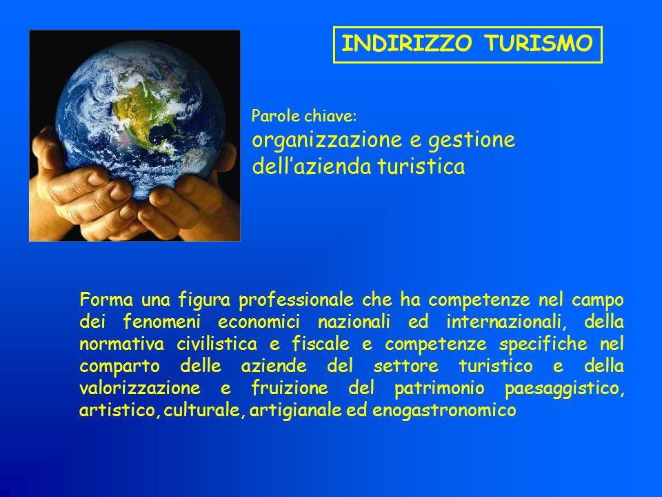 organizzazione e gestione dell'azienda turistica