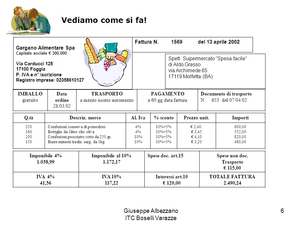 Vediamo come si fa! Giuseppe Albezzano ITC Boselli Varazze