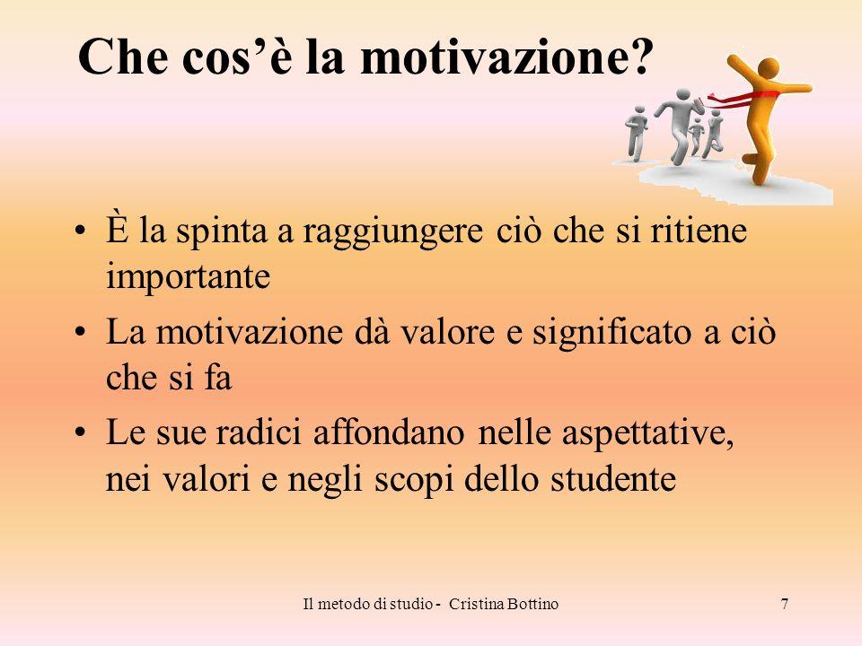Che cos'è la motivazione
