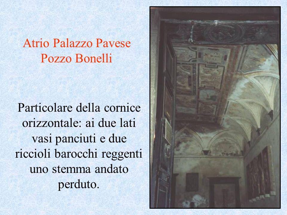 Atrio Palazzo Pavese Pozzo Bonelli
