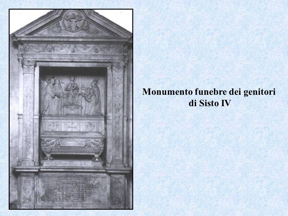 Monumento funebre dei genitori