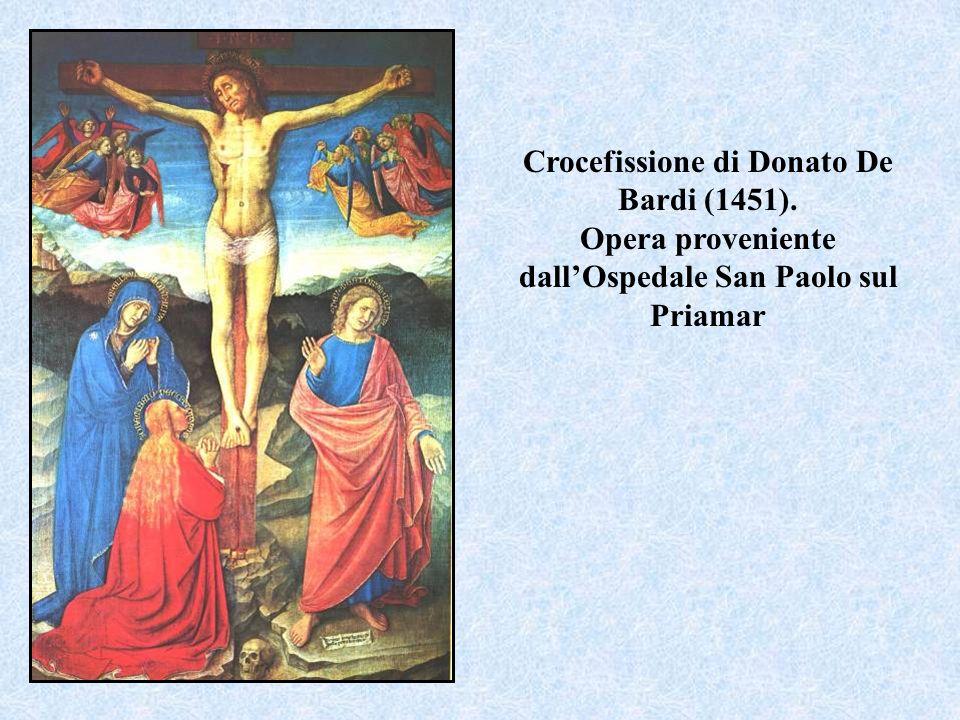Crocefissione di Donato De Bardi (1451)