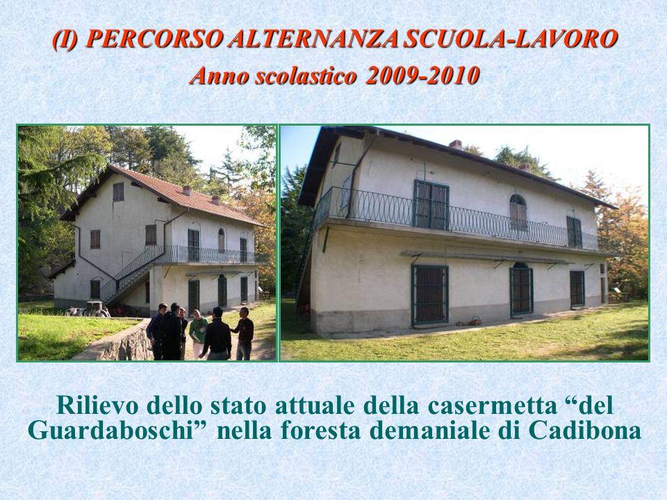 (I) PERCORSO ALTERNANZA SCUOLA-LAVORO