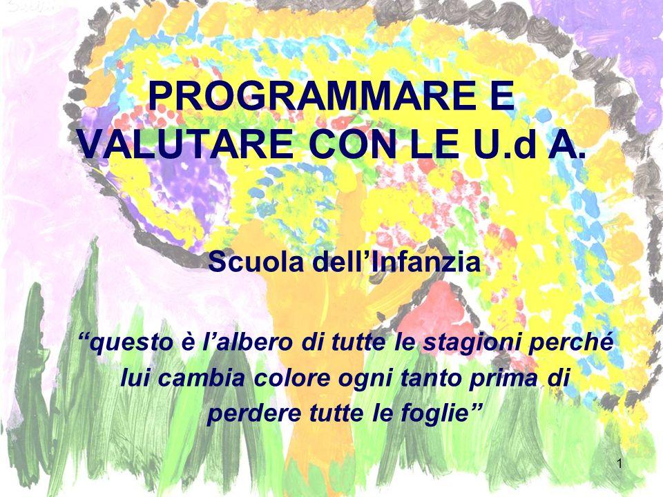 PROGRAMMARE E VALUTARE CON LE U.d A.