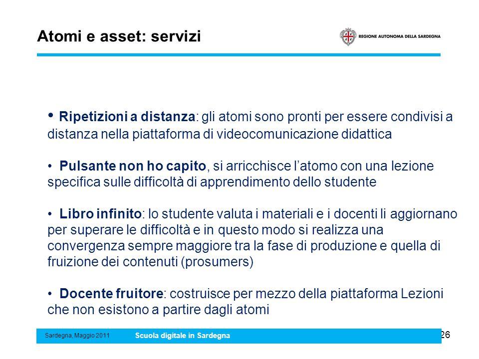 Atomi e asset: servizi
