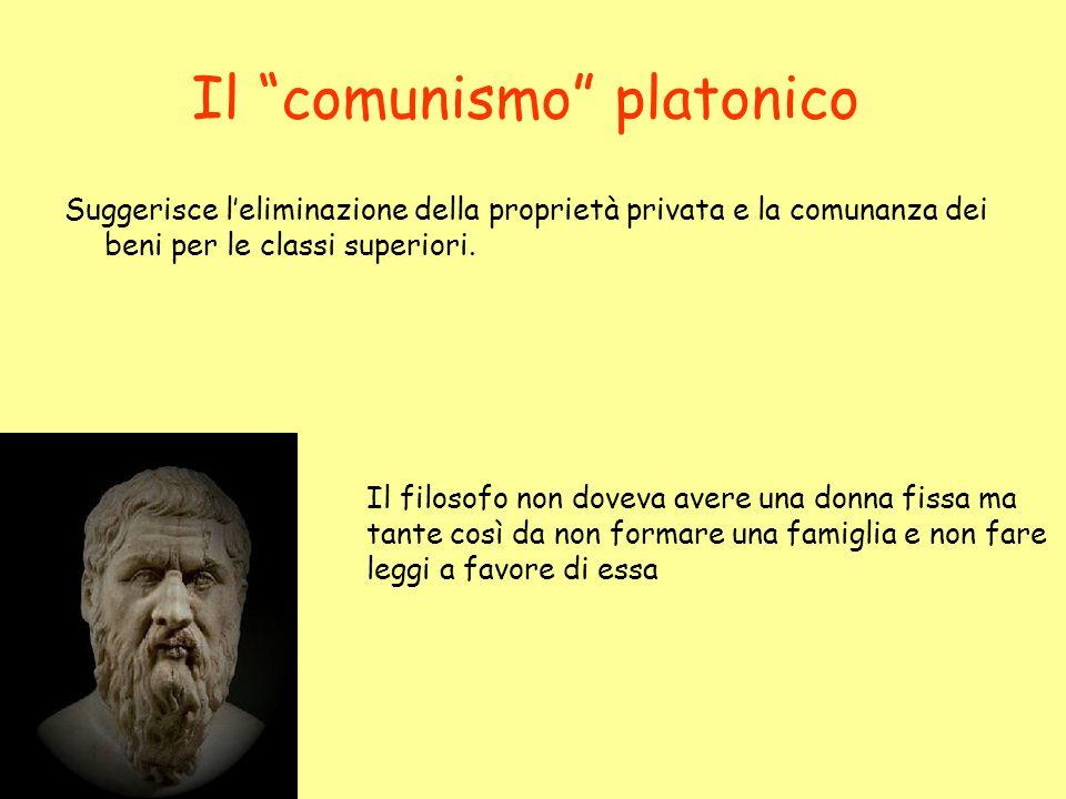 Il comunismo platonico