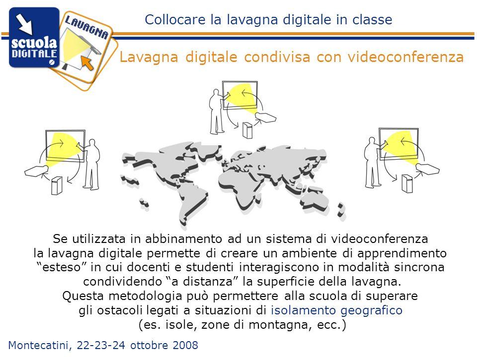 Lavagna digitale condivisa con videoconferenza
