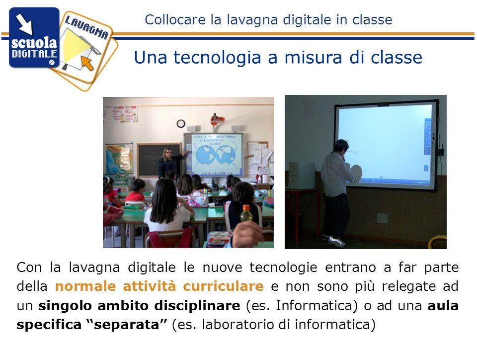 Una tecnologia a misura di classe