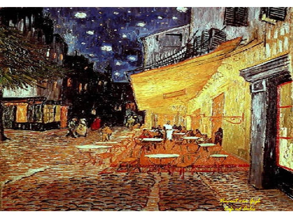 Vincent van Gogh Cafe ad Arles