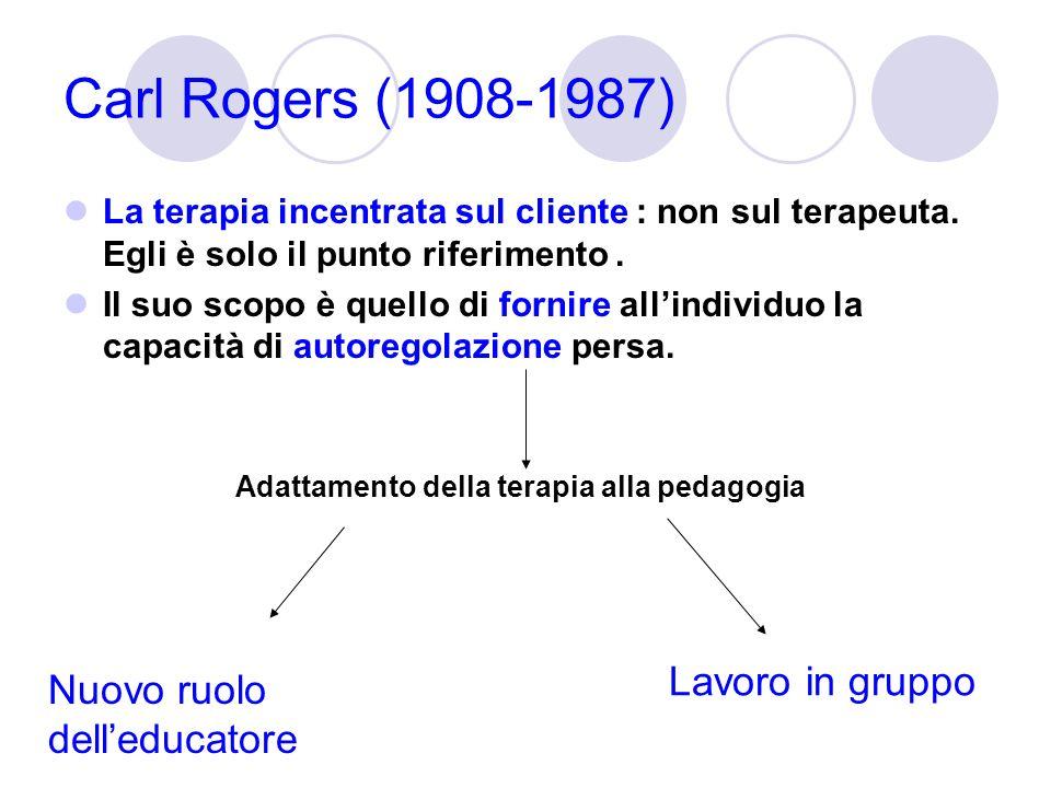 Adattamento della terapia alla pedagogia
